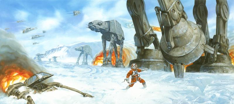 Hoth Battle Wallpaper Battle of Hoth Battle of Hoth