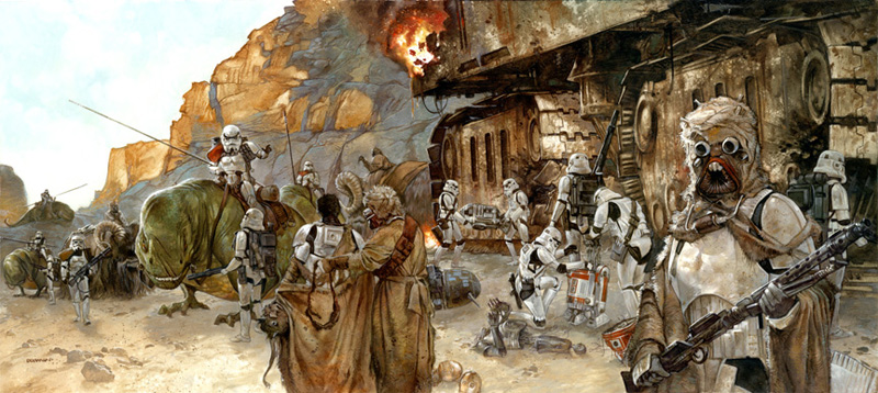 Incident on the Jundland Wastes, Tatooine