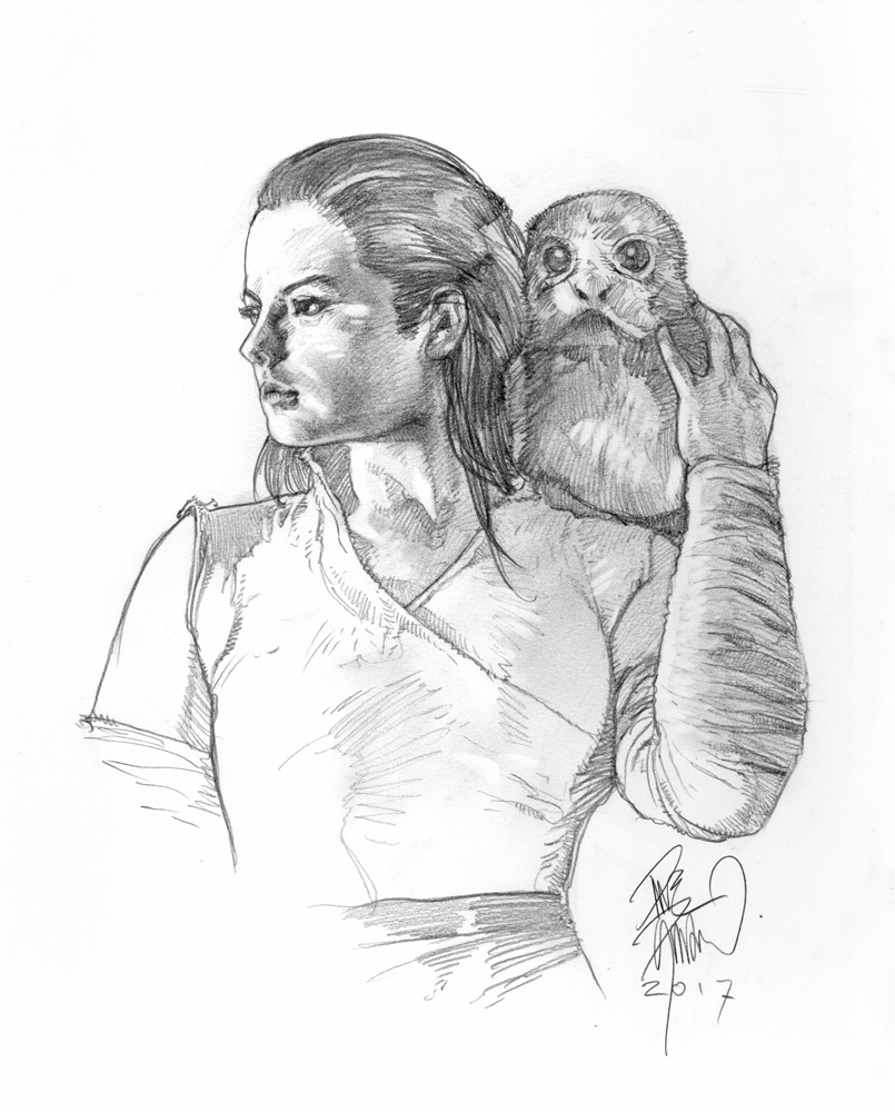 REY with a PORG